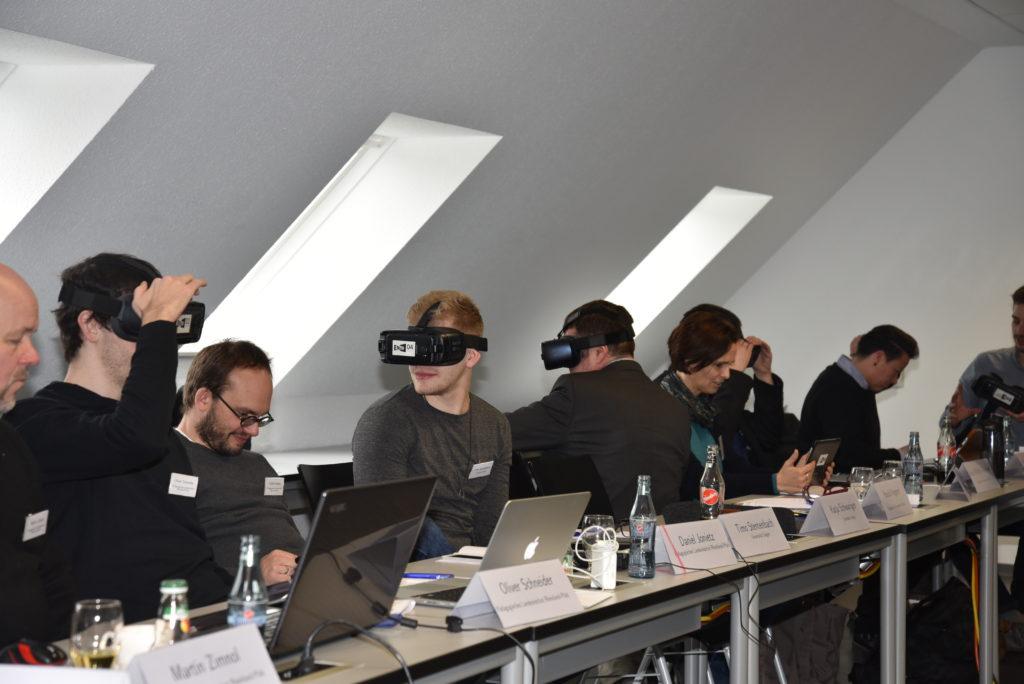 Lerneinheit mit Virtual Reality